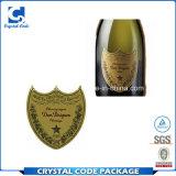 Горячий продавая ярлык стикера Dom Perignon Шампань