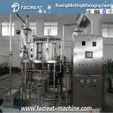 Jus de boisson et machine d'embouteillage en verre carbonatée de machine de remplissage de bouteilles de boissons