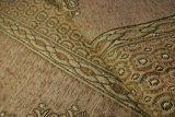Tessuto classico del sofà del Chenille dei due fiori per Medio Oriente