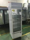 LED 점화를 가진 강직한 상업적인 단 하나 유리제 문 냉각기 냉장고