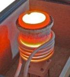 forno ad induzione compatto 8kw con il crogiolo per il platino Bronze di rame d'argento di fusione ecc dell'oro