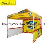 Gazebo шатра случая 3*3m напольный алюминиевый складывая с печатание для коммерческого использования