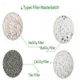 40% 이상 충전물은 LDPE/HDPE 필름 저축 비용 CaCO3 충전물 Masterbatch에서 추가한다
