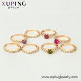 11478 Goldschmucksache-geöffneter Perlen-Ring der Form-18K für Frauen