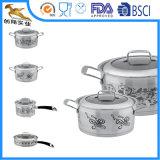 18/10 Cookware нержавеющей стали установил с этикетой (WGS-1628)