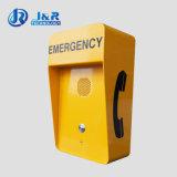 Telefone de emergência sistema mãos livres de intercomunicação Industrial no exterior para o Projeto de Serviço Pesado
