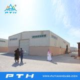 De varios pisos edificio de la estructura de acero de alta calidad
