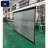 Встроенный экран с электроприводом передней проекции центрального блока управления