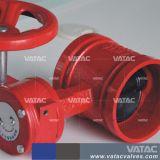 Schelle-Drosselventil des Form-Stahl-Wcb/Lcb/Ss316/Ss304 Grooved