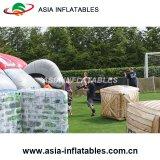 Camuflaje Campo Paintball inflable Bunker juego en equipo para niños