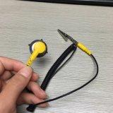 Electronic noir jaune cordon de masse ESD