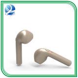 이어폰 매우 소형 차를 취소하는 입체 음향 소음은 Bluetooth를 iPhone를 위한 Mic를 가진 무선 헤드폰이라고 7 인조 인간 PSP 칭한다