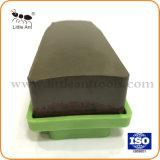 Retour en plastique vert polissage Tampon à polir de bloc de granite /en marbre/Pierres