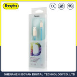 주문을 받아서 만들어진 색깔 보편적인 마이크로 비용을 부과 전화 USB 데이터 케이블