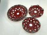 Les roues de la Coupe du broyage de diamant pour broyer le béton et de la pierre