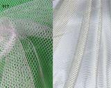 Weiße runde Bouffant Haarnetz-Wegwerfschutzkappe