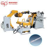 Alimentador Straigthener Decoiler máquina en la industria de fabricación de OEM (MAC4-800F)