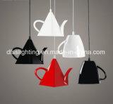 Светильник современного причудливый чайника стеклоткани освещения привесной украшая магазин кафа