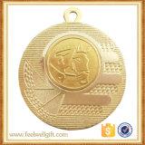 Medalla de aluminio del emblema de la competición ecuestre