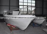 Barcos de pesca do esporte da fibra de vidro de Liya 500cm feitos em China