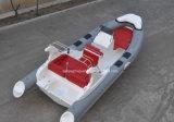 Liya 6.6mヨットのボートの膨脹可能な肋骨のボートを採取している12人