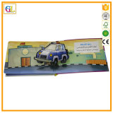 Alta impresión del libro de niños de la tarjeta de Qaulity