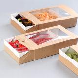 Quitarle la comida rápida Caja de cartón con ventana transparente Proveedores