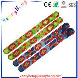 Wristband di gomma del braccialetto del fumetto su ordinazione 3D per il regalo di promozione