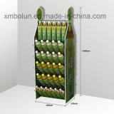 4 étagères refroidissent l'étalage de publicité durable conçu d'étagère de bière