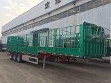 Tri-Axle 60 toneladas juego/Valla camión remolque semi