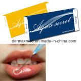 Seringa de gel de ácido hialurônico injecções de lábios