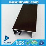タンザニア様式のWindowsのドアのためのISOの証明書のアルミニウムプロフィール