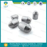 Pieza inserta del dígito binario de taladro del carburo de tungsteno