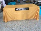 Anunciando o Tablecloth impresso de pano de tabela da tampa de tabela (XS-TC18)