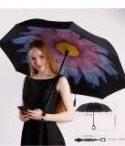高品質卸し売り屋外車の昇進まっすぐで大きい雨傘
