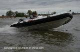 Barco inflável rígido dos barcos do reforço de Liya 14FT com motor externo