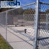 卸し売り熱いPVCは電流を通された使用されたチェーン・リンクの塀に塗った