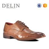 2018 Nueva Primavera precio barato de los hombres zapatos de cuero