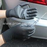 Эср сверху установите черный провод фиолетового цвета для рук с покрытием против статического рабочие перчатки Ce утвержденных