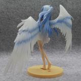 Рисунок игрушка шаржа красивейшей маленькой девочки ангела японский для украшения