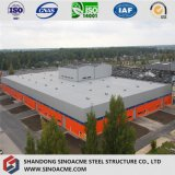 Große Überspannung Peb Stahlkonstruktion-Logistik-Mitte