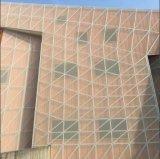 Engranzamento decorativo exterior do revestimento do metal com projeto de Foshion