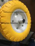 Qingdao 색깔 PU 거품 Handtruck 바퀴