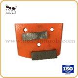 Трапецеидальный сегмента Diamond пластина для шлифования бетона, Пол шлифовка