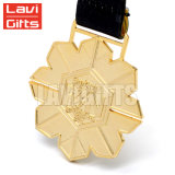 Hot Sale Factory Direct Médaille hexagonal personnalisé