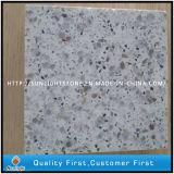 Ausgeführter künstlicher weißer Quarzit-Stein für Platten und Fliesen