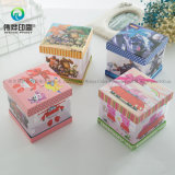 Boîte-cadeau en plastique de bourrage estampée claire faite sur commande de PVC d'usine