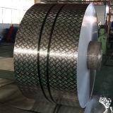Bobine d'aluminium gaufré pour l'appareil