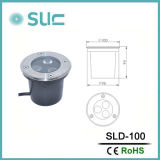3.8W lampade sotterranee esterne del pavimento LED