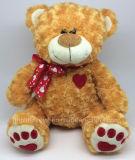 Giocattoli farciti svegli dell'orso dell'orsacchiotto della fabbrica di verifica di BSCI per il giorno del biglietto di S. Valentino